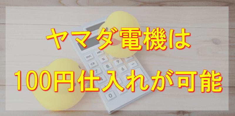 ヤマダ電機せどり(転売)は100円という破格のおもちゃを狙ってリサーチする