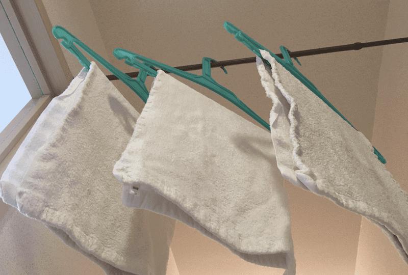 TAKEFU(竹布)タオルは、なんで部屋干しで臭わないの?