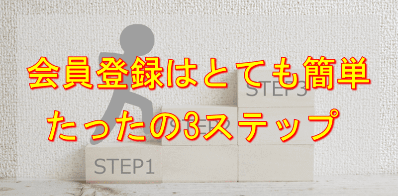 ヤフープレミアム会員の登録は簡単3ステップ